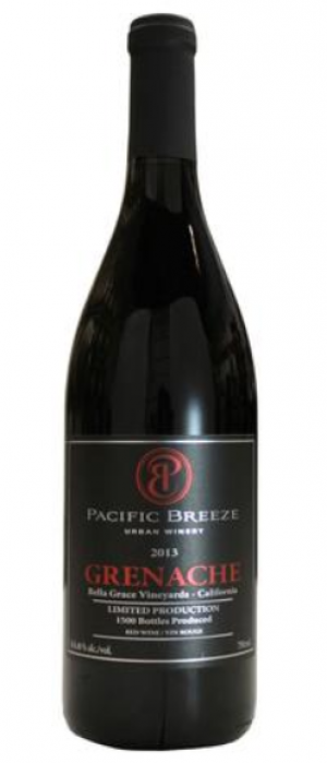Pacific Breeze Winery 2013 Grenache | Red Wine