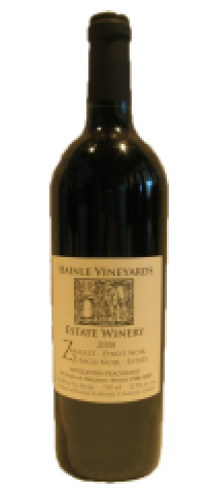 Hainle Vineyards Estate Winery 2009 Hainle Z3 Estate Bottle