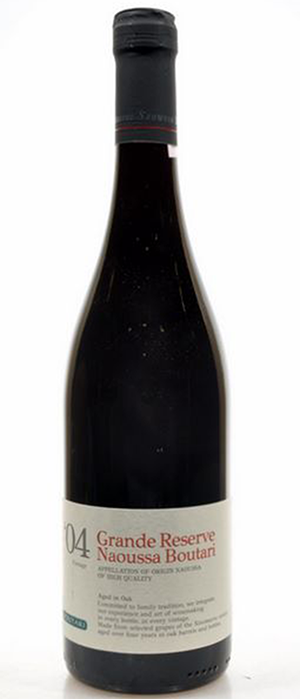 Boutari Wines 2007 Xinomavro Bottle