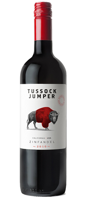 Tussock Jumper 2010 Zinfandel Bottle