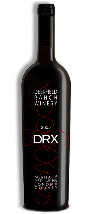 Deerfield Ranch Winery 2005 DRX Bottle