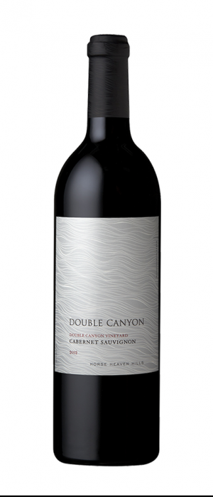 Double Canyon 2012 Cabernet Sauvignon Bottle