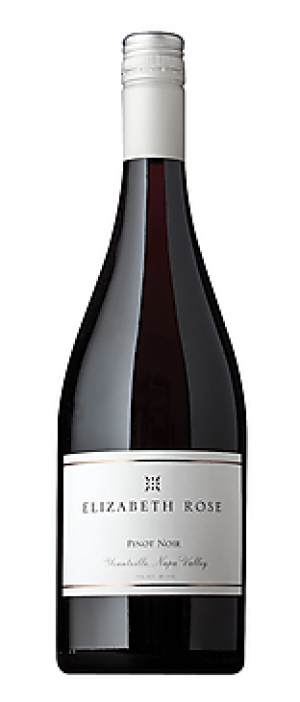 Elizabeth Rose 2012 Pinot Noir Bottle