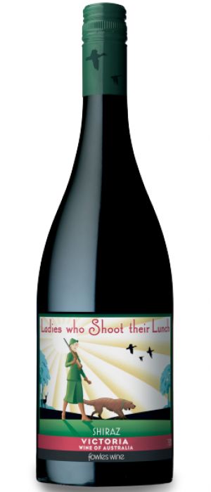 Fowles Wine Ladies Who Shoot Their Lunch Shiraz Bottle