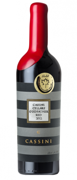 Cassini Cellars 2012 Godfather Red Bottle