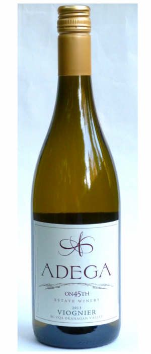 Adega on 45th Estate Winery 2012 Viognier Bottle
