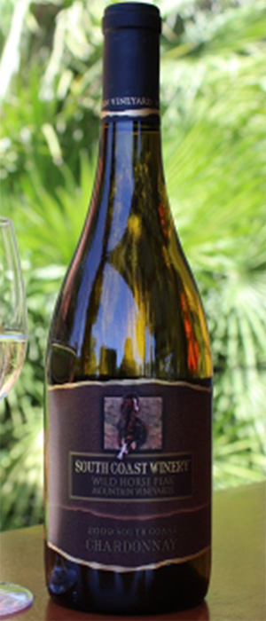 Chardonnay Wild Horse Peak Bottle