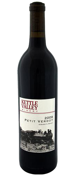 Kettle Valley Winery 2009 Petit Verdot Bottle