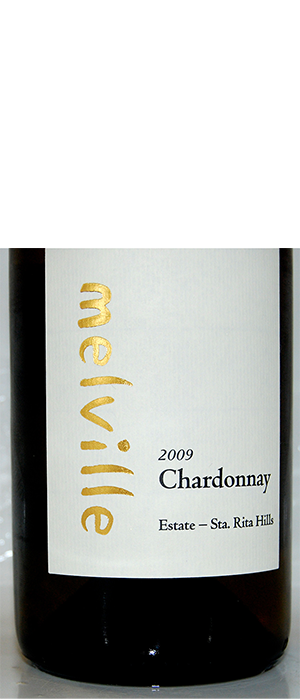 Melville Vineyards and Winery 2009 Chardonnay Bottle