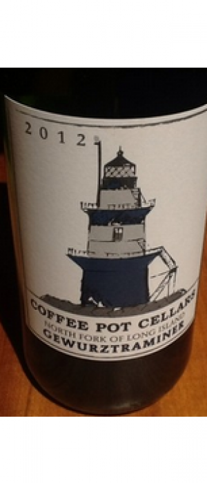 Coffee Pot Cellars 2012 Gewürztraminer Bottle