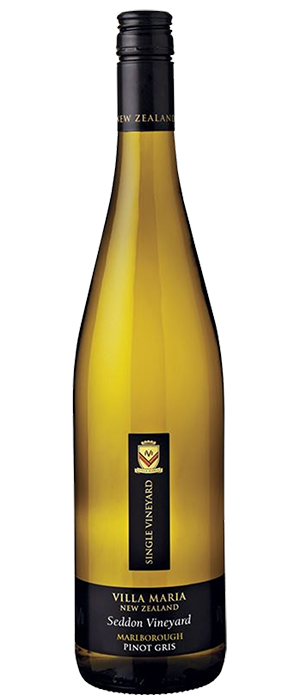 Single Vineyard Seddon Pinot Gris Bottle