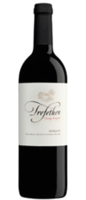 Trefethen Family Vineyards 2011 Merlot Bottle