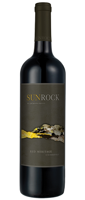 SunRock by Jackson-Triggs 2010 Red Meritage Bottle