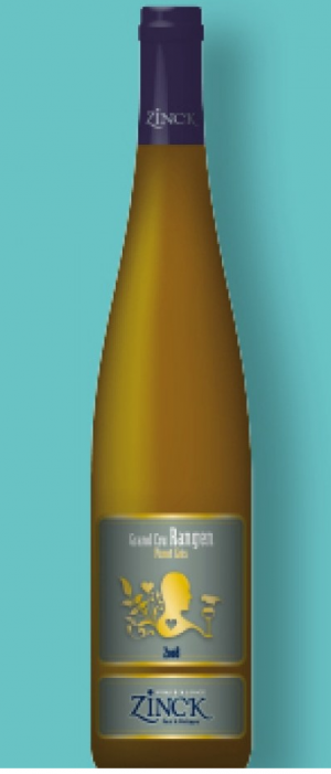 Domaine Zinck Grand Cru Rangen 2012 Pinot Gris Bottle