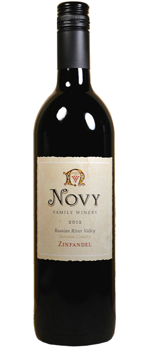 Novy Family Wines 2010 Zinfandel Bottle