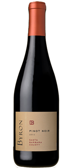 Byron Winery 2012 Pinot Noir Bottle