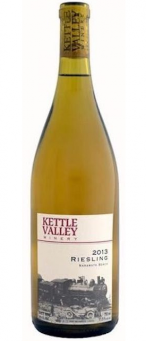 Kettle Valley Winery 2013 Riesling Bottle