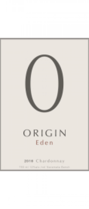 Origin Wines 2016 Chardonnay Bottle