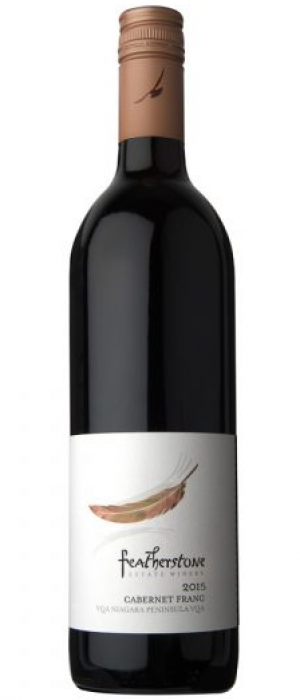 Featherstone Estate Winery 2015 Cabernet Franc Bottle