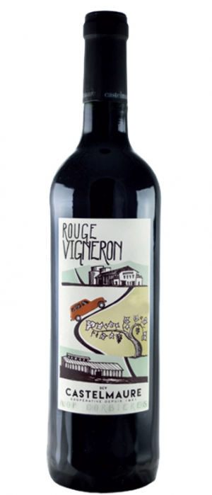Castelmaure Rouge Vigneron  2015 Bottle
