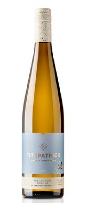 Fitzpatrick Family Vineyards 2017 The Lookout Riesling Bottle