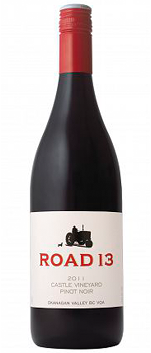 Castle Vineyard Pinot Noir Bottle