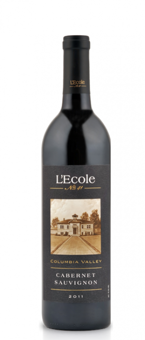 L'Ecole No. 41 2011 Cabernet Sauvignon blend Bottle