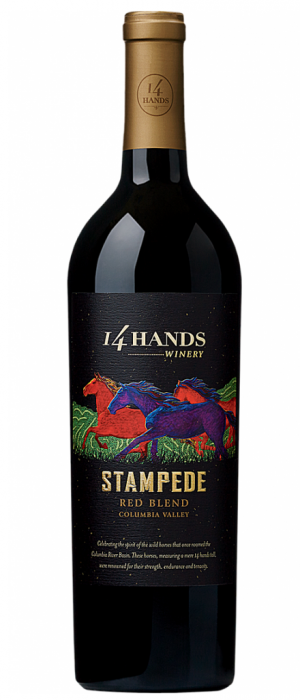 14 Hands Winery Stampede Red Blend 2014 Bottle