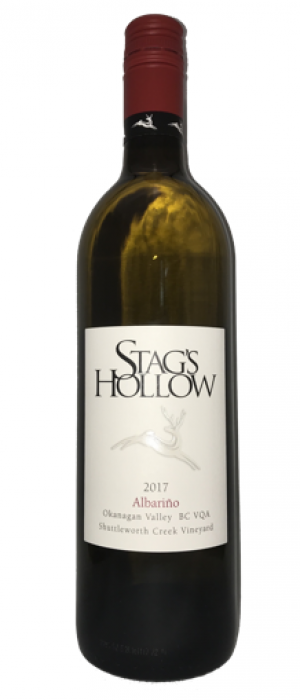 Stag's Hollow 2017 Albariño Bottle