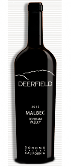 Deerfield Ranch Winery 2012 Malbec blend Bottle