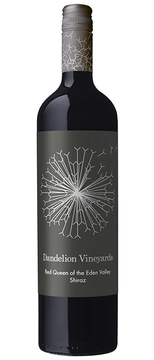 Dandelion Vineyards Red Queen of the Eden Valley 2012 Shiraz Bottle