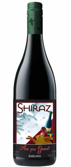 Fowles Wine Are You Game? Shiraz Bottle