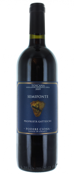 Podere Ciona Semifonte 2013 Rosso Toscano IGT Bottle