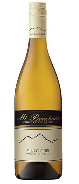 Mt. Boucherie Winery 2013 Pinot Gris (Grigio) Bottle