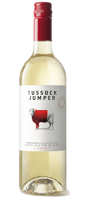 Tussock Jumper 2011 Sauvignon Blanc Bottle