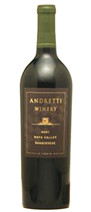 Andretti  Napa Valley Zinfandel Bottle