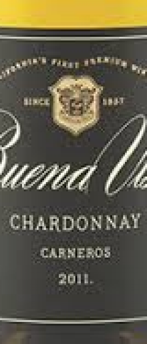 Buena Vista Winery 2011 Chardonnay Bottle