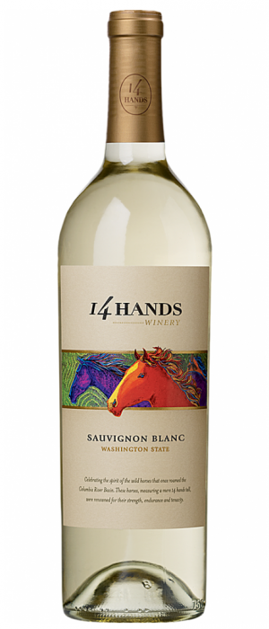 14 Hands Winery 2015 Sauvignon Blanc Washington State | White Wine