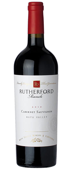 Rutherford Ranch 2010 Cabernet Sauvignon Bottle