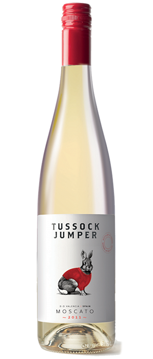 Tussock Jumper 2011 Moscato Bottle