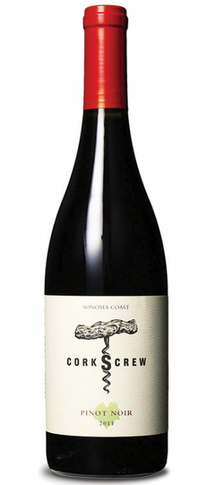 Corkscrew 2011 Pinot Noir Bottle