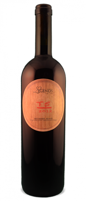 Legends Estates Winery  2012 T5 Red Barrel Blend Bottle