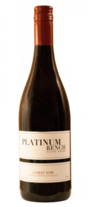 Platinum Bench Estate Winery & Artisan Bread Co. 2015 Gamay Noir Bottle