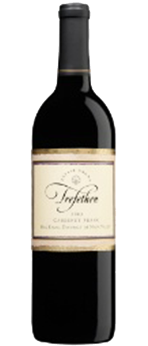 Trefethen Family Vineyards 2011 Cabernet Franc Bottle
