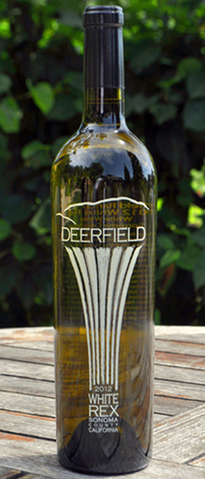 Deerfield Ranch Winery White Rex 2012 Bottle