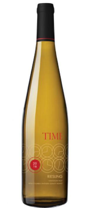 TIME Winery 2016 Riesling Bottle