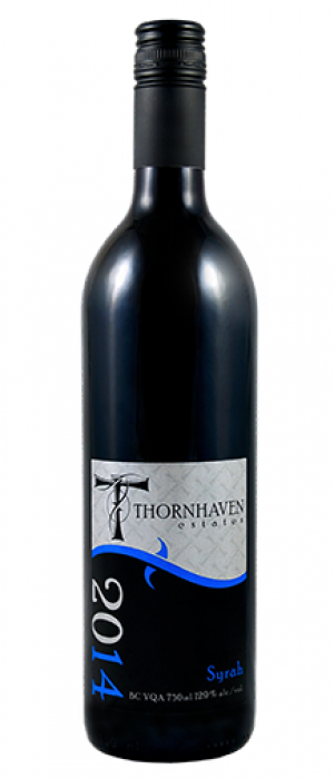 Thornhaven Estates Winery 2014 Syrah (Shiraz) Bottle