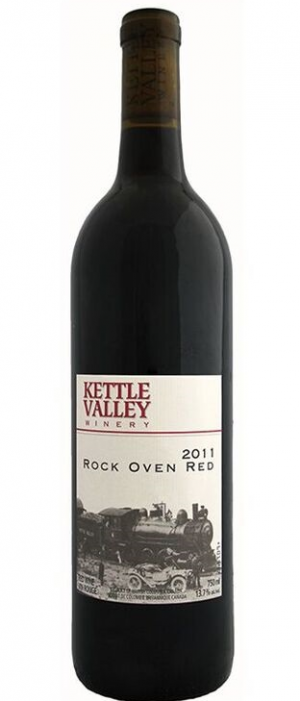 Kettle Valley Winery 2011 Rock Oven Red Bottle
