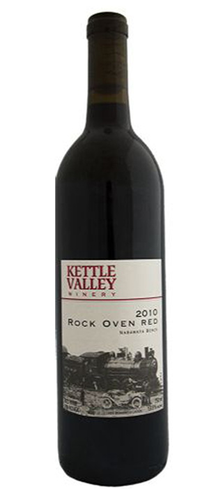 Rock Oven Red Bottle