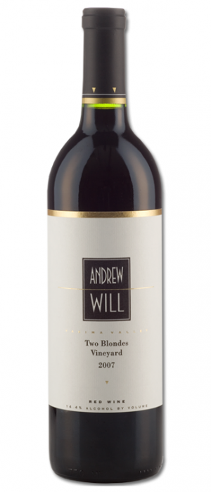Andrew Will Two Blondes Vineyard 2007 Bottle